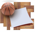 Photo Frame for Basketball: 0000095
