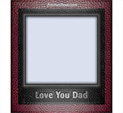Photo Frame for Father's Day: 0000189