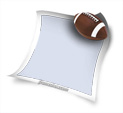 Photo Frame for American Football: 0000209