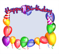 Photo Frame for Birthday: 0000233