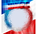 Photo Frame for Bastille Day: 0000240