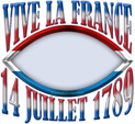 Photo Frame for Bastille Day: 0000243