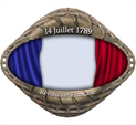 Photo Frame for Bastille Day: 0000247