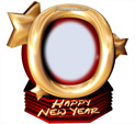 Photo Frame for New Year: 0000304