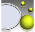 Photo Frame for Tennis: 0000712