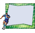Photo Frame for Soccer: 0000739