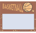 Photo Frame for Basketball: 0000781