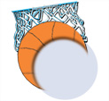 Photo Frame for Basketball: 0000782