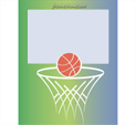 Photo Frame for Basketball: 0000783