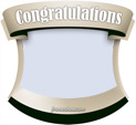 Photo Frame for Congratulations: 0000862