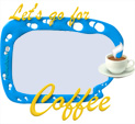 Photo Frame for Let's go for coffee: 0001038