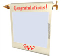 Photo Frame for Congratulations: 0001044