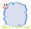 Photo Frame for Have a nice day: 0001045