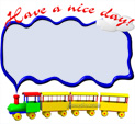 Photo Frame for Have a nice day: 0001046