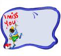 Photo Frame for I Miss you: 0001048