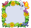Photo Frame for Spring: 0001305