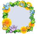 Photo Frame for Spring: 0001306