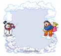 Photo Frame for Winter: 0001309