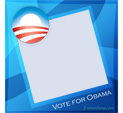 Photo Frame for USA elections 2008: 0001663