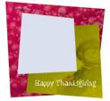 Photo Frame for Thanksgiving: 0001740