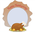 Photo Frame for Thanksgiving: 0001743