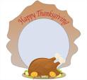 Photo Frame for Thanksgiving: 0001743