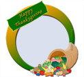 Photo Frame for Thanksgiving: 0001745
