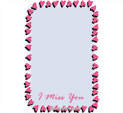 Photo Frame for I Miss you: 0001785
