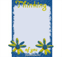 Photo Frame for Thinking of you: 0001786
