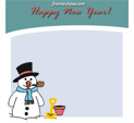Photo Frame for New Year: 0001788
