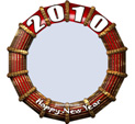 Photo Frame for New Year: 0002142