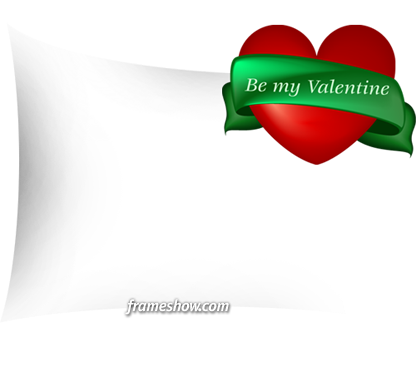 be my valentine image frame