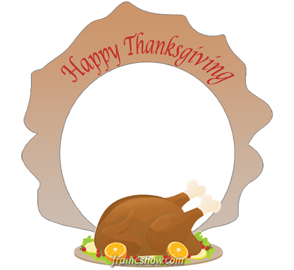 Thanksgiving image frame